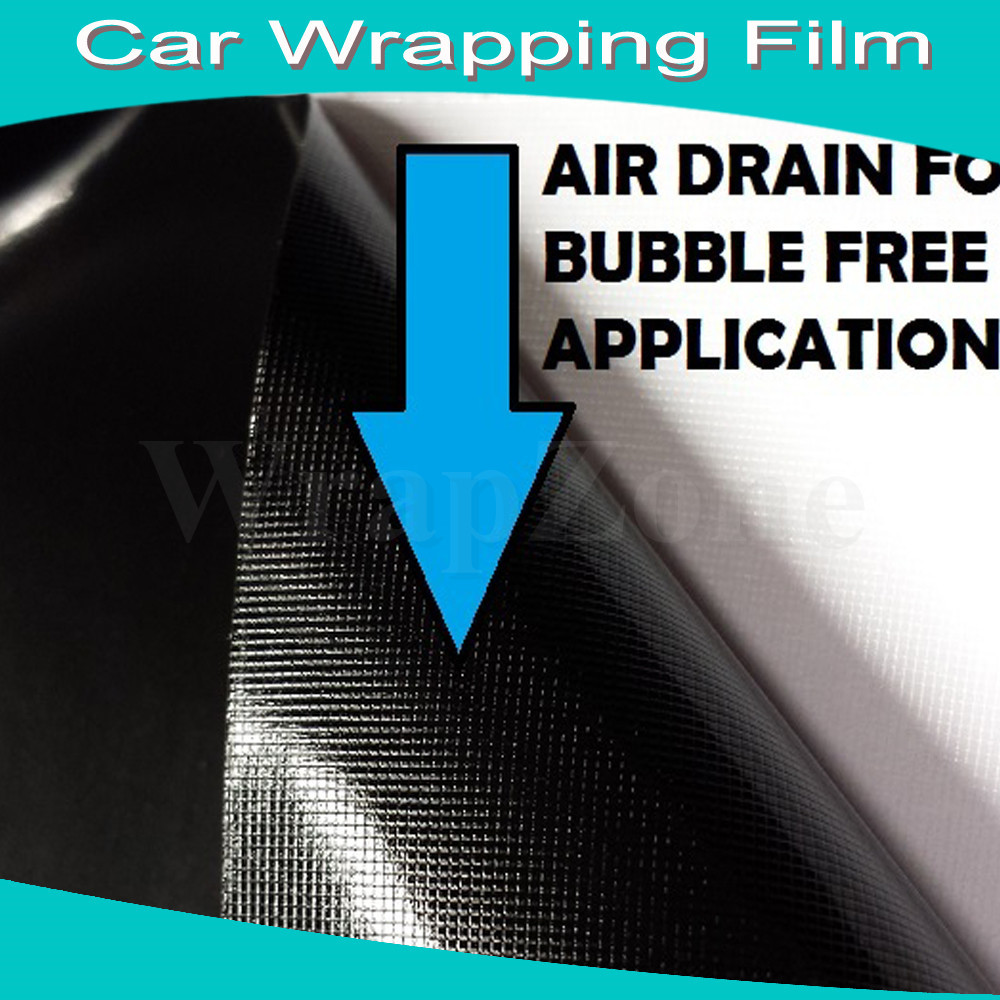 Black Shining Glossy Vinyl Wrap Glossy Vinyl Film Car Wrap Sticker With Bubble Free 5ft x 98ft Pack by Fedex Free Shipping(China (Mainland))