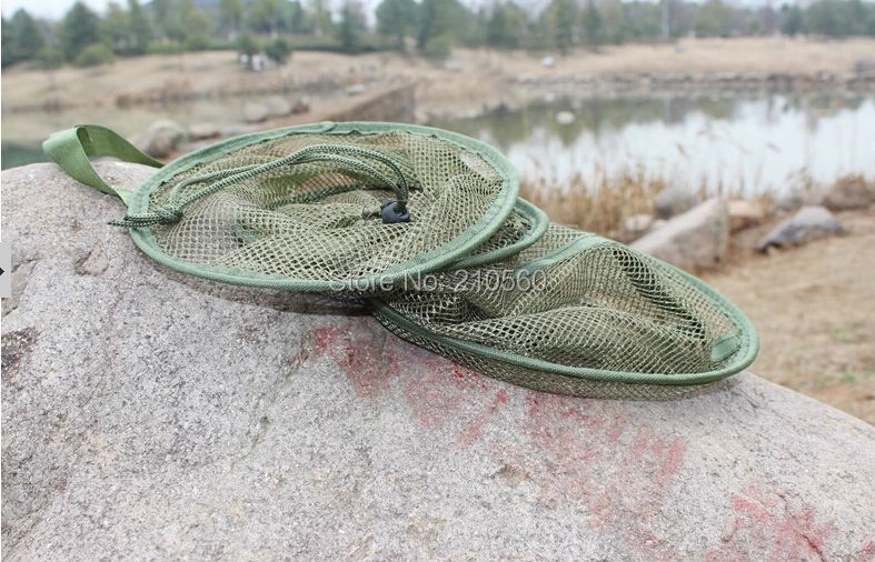 Top quanlity portable fish cage fishing net small quick for Small fishing net