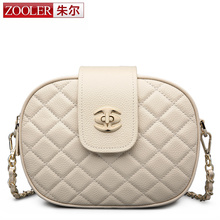 Buy ZOOLER new fashion women messenger shoulder bag stylish chains cowhide leather bags genuine leather bag crossbody lady #2229 for $61.10 in AliExpress store