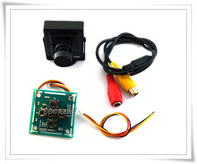 FPV 700-line Camera 3.6mm Video with OSD Function Free Track Shipping