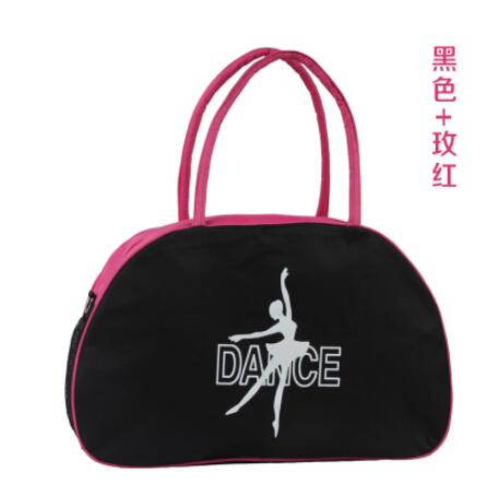 Black Rosy teenager Cute student Messenger Bag Child girl portable kid dance ballet bag korean Casual fashion cool birthday gift(China (Mainland))