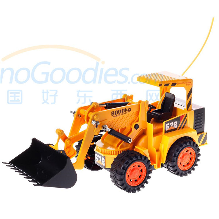 Yu Hang 8026 Remote Control Loader Forklift Truck 5.0 Control Channels Type Yellow Best RC Toy for Boy(China (Mainland))