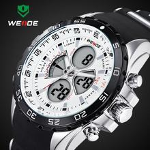 2014 Latest 30 Meters Waterproofed WEIDE Brand Analog Wristwatch Men Sports Watch Japan Quartz Movement Watches 1 Year Guarantee