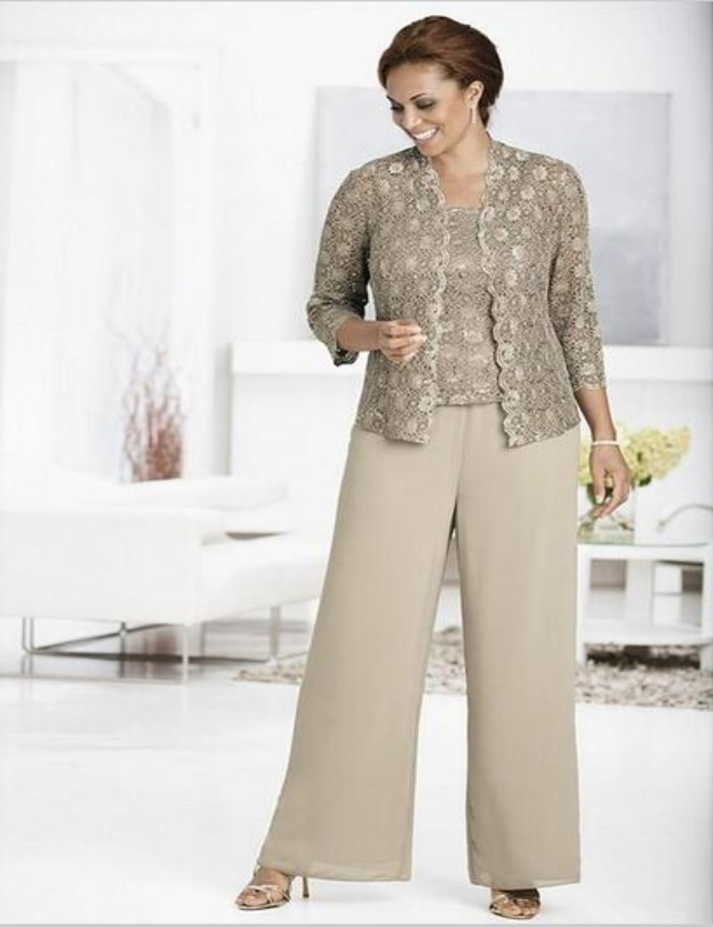 Popular Mother of Bride Plus Size Pant Suit-Buy Cheap Mother of ...