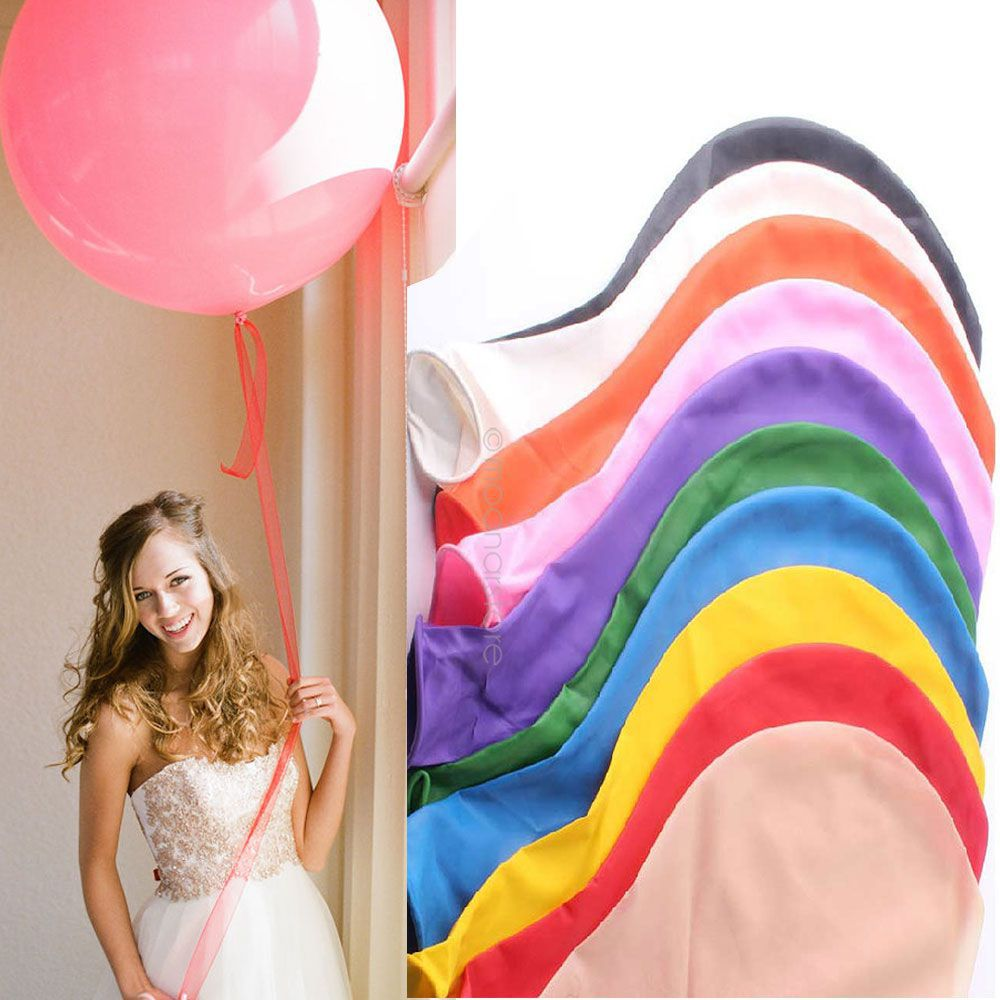 Large Round Balloon 36 inch Party Balloons Wedding Festival Balloons Decor #10(China (Mainland))