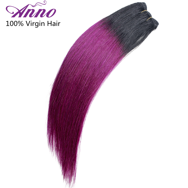 Ombre Peruvian Hair Straight Weave 1Pcs 1b Pink Two Tone Ombre Hair Extensions Peruvian Virigin Hair Ombre 1b Pink Anno Hair<br><br>Aliexpress