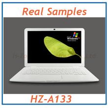 13.3 Inch Laptop With Intel ATOM D2500 1.86Ghz Processor 2GB RAM&320GB HDD 3200mAh Battery 1.3M Webcam WIFI(Hong Kong)