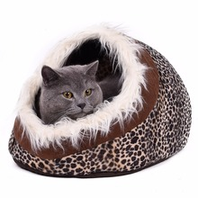 Removable Warm Pet Bed Lamb Cotton Dog Bed Pet Cat House Lovely Soft Cat Bed Cave Pet Products(China (Mainland))