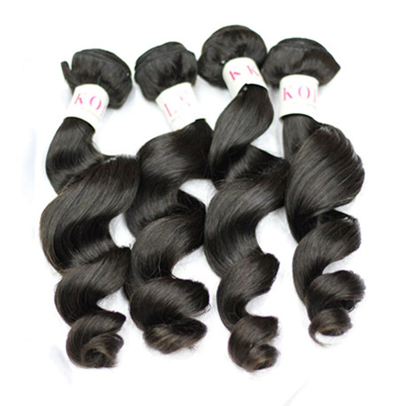 Kola Hair 7A Peruvian Virgin Hair Bundles 3pcs/lot Peruvian Virgin Hair Loose Wave Unprocessed Peruvian Human Hair Weave