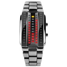 Nuevos hombres y mujeres pareja afluencia estudiante reloj reloj con calendario de cuarzo de acero inoxidable relojes personalizados