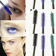 3pcsBeautiful Mascara Brand Makeup Basics Curler Eyelash Waterproof Mascara For Thick Eye Lshes Cosmetic Cute Tool Color Mascara(China (Mainland))