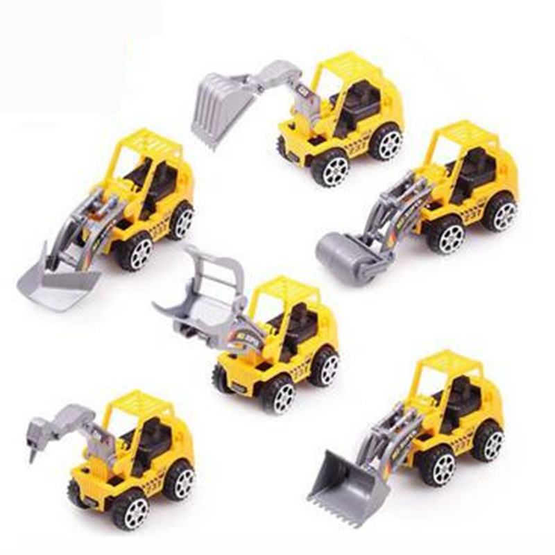 6pcs/set Truck Model Toy Car Very Cheap Plastic Car Diecasts & Toy Vehicles Baby & Kids Best Model Car For Children tzx238(China (Mainland))