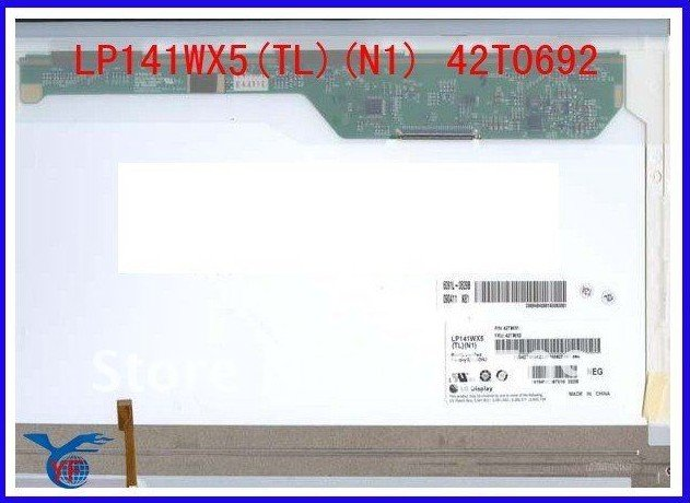 14.1'' LP141WX5 (TL)(N1) 42T0692 laptop LED Screen GradeA+&Brand new for SL400 LED to wholesale&retail(China (Mainland))