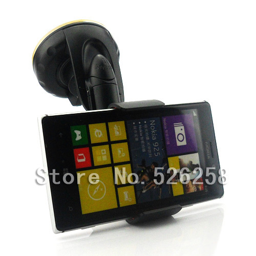 2014 universal powerful car sticky suction pad holder for nokia lumia 925 free shipping in - Notepad holder for car ...