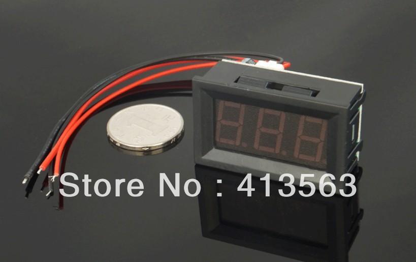 wholesale1pcs red 0~50A DC Digital display LED Panel Ammeter/ amp Ampere Meter  #00007<br><br>Aliexpress
