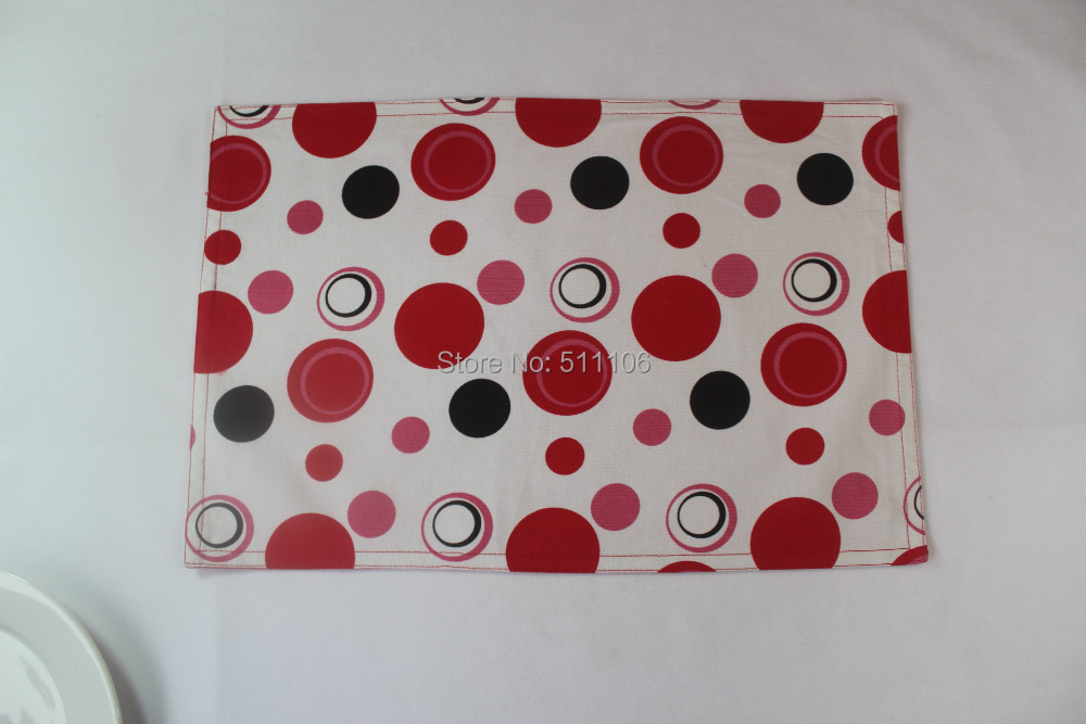 Free Shipping FENGLIN Top Value 100% Cotton Placemat(China (Mainland))