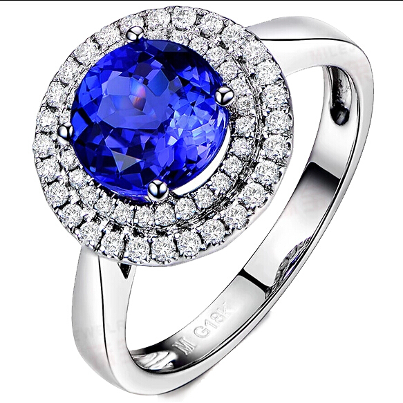 Simulated Tanzanite: Simulated Tanzanite Ring Promotion-Shop For Promotional