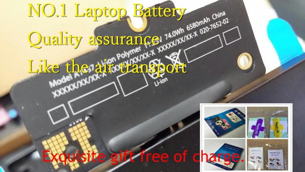 Original New Laptop Battery A1437 A1425 Mac Retina screen 13 inch built-in batteries - No.1 battery store