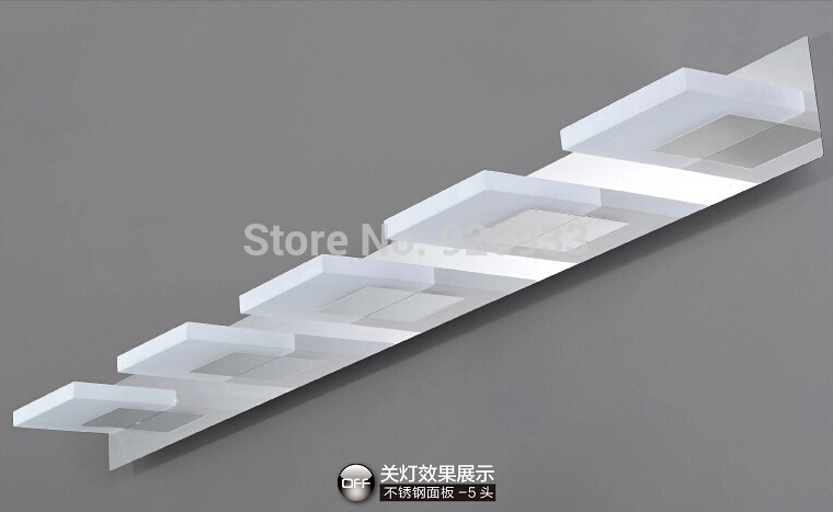 Vanity Lights White : Modern 94CM LED Waterproof Warm White / cool white110v 220v Bathroom Mirror Vanity Lights ...