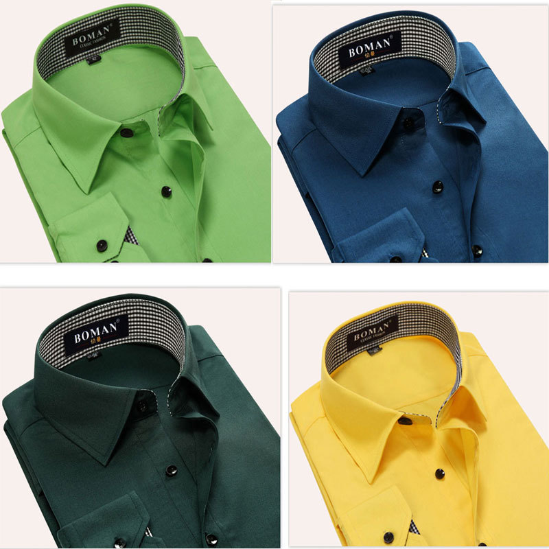free shipping Spring Autumn Cotton Dress Shirts  Mens Casual Shirt,Casual Men Slim Fit Social Shirts 48.7Одежда и ак�е��уары<br><br><br>Aliexpress