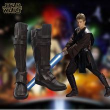 Anime Shoes Flim Star Wars Anakin Skywalker Cosplay Boots(China (Mainland))