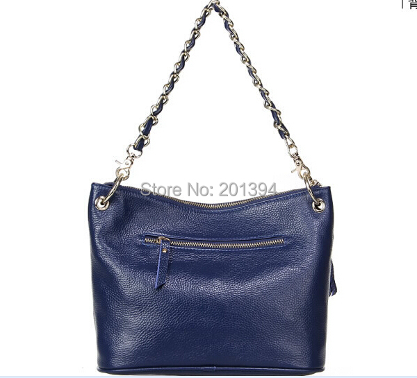 Genuine Leather 2015 Brand New Cowhide Women Messenger Bags Chain Fashion Crossbody Cow Leather Shoulder Women Bag Hobos Bolsos<br><br>Aliexpress