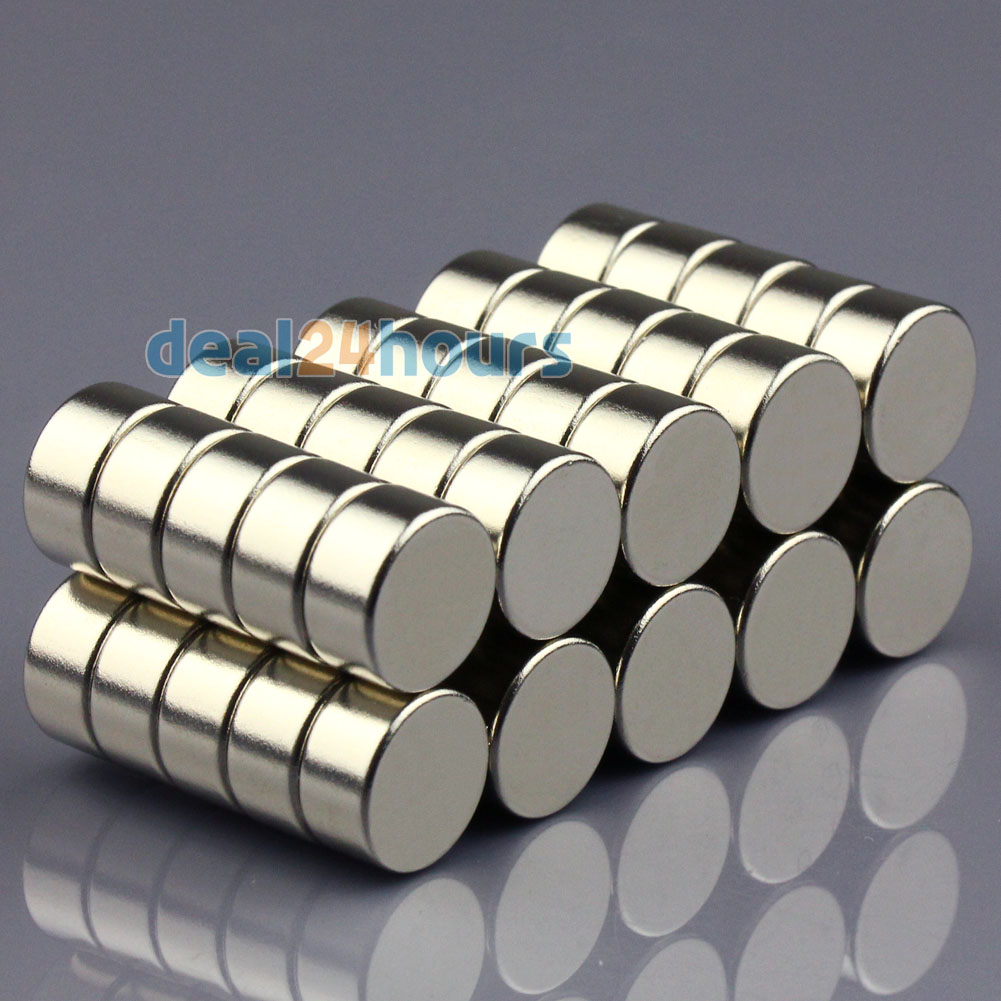50pcs N50 Super Strong Round Disc Cylinder Magnets Rare Earth Neodymium 12mm x 6mm Free Shipping<br><br>Aliexpress