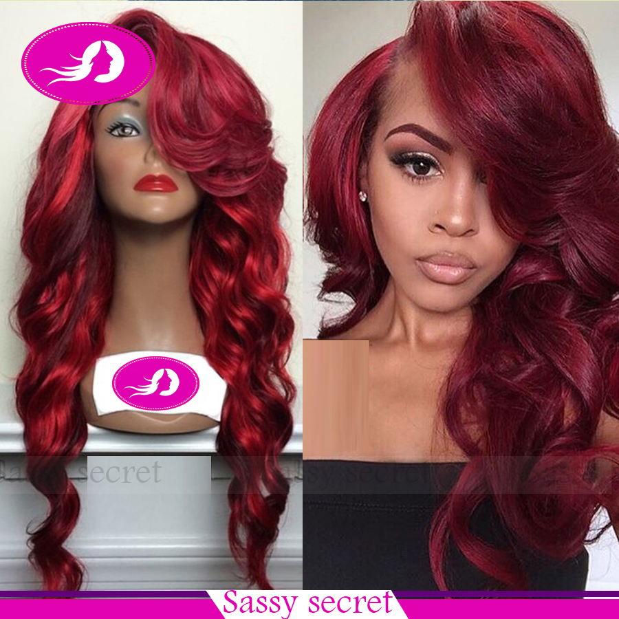 Popular Red Lace Front Wig-Buy Cheap Red Lace Front Wig ...