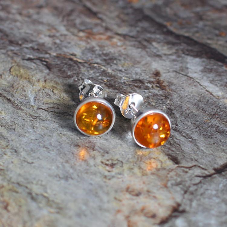 Здесь можно купить  The character of silver hot recommend new listing 925 Silver Ladies retro AMBER EARRINGS  Ювелирные изделия и часы