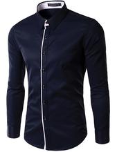 Camisa Social Masculina Slim Fit Importada