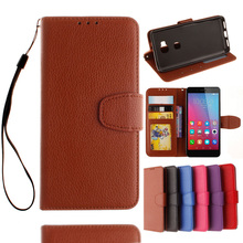 Lichee PU Leather Mobile Phone Cases Huawei Honor4A Y6 SCL-L01 GR5 Honor 5X 5C GT3 Honor7 Case Cover Flip Hood Bags - R-mart store
