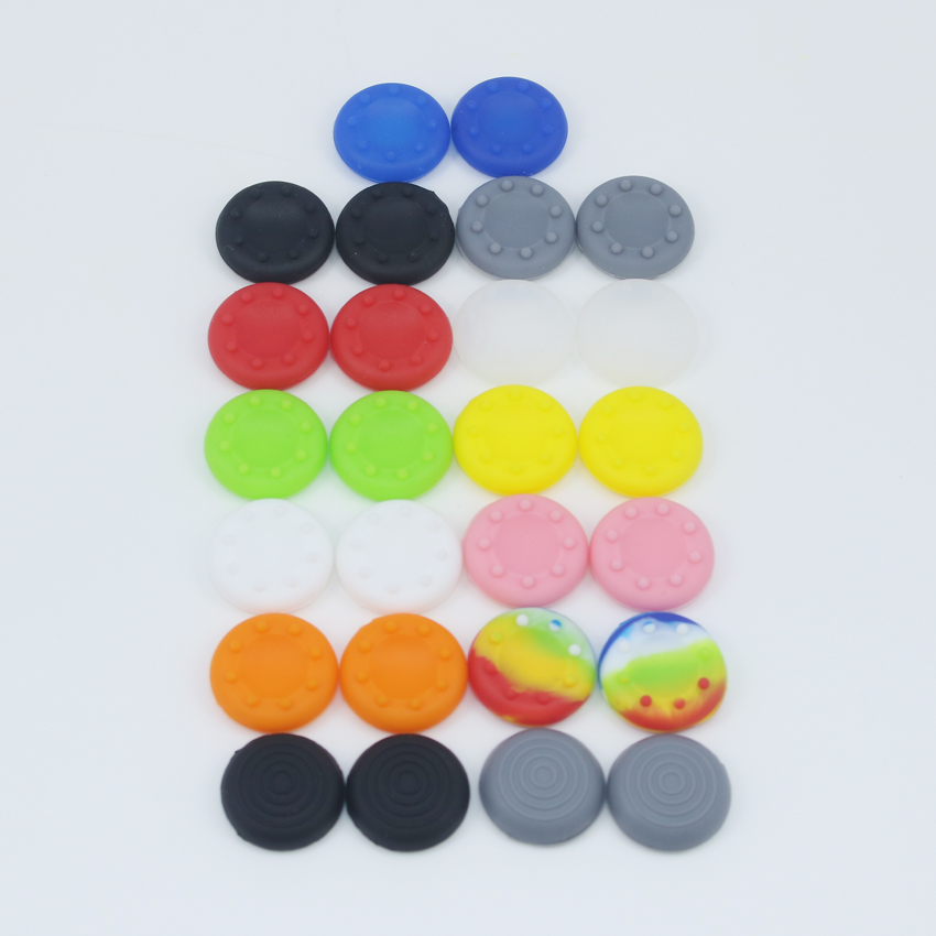 100 PCS Analogue Thumb Sticks Grips for Sony Playstation PS4 PS3 Joystick Caps For Xbox 360 Xbox 1 Controller(China (Mainland))