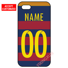 Hot Messi Jersey Custom Your Name Number Cover Case for Samsung Galaxy S3 S4 S5 Mini S6 S7 S8 Edge Plus Note 3 4 5(China (Mainland))