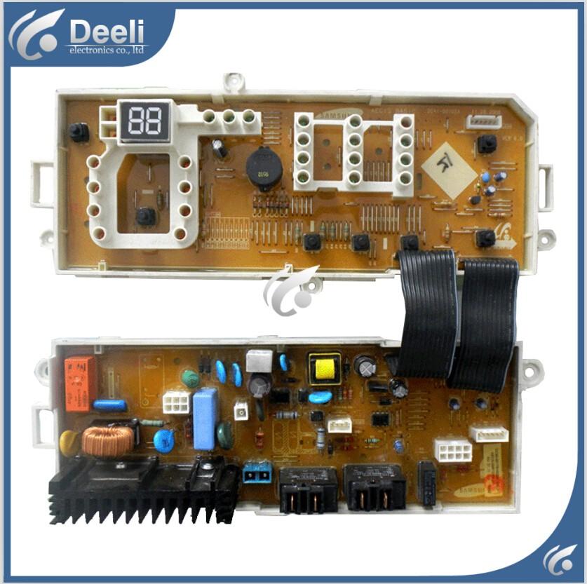 Купить 95% новые оригинальные для Samsung стиральные машины бортовой компьютер DC92-00396A B WF0702NHM WF0702NHL материнская плата