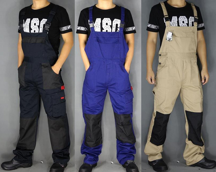 Work overalls men Working coverall Worker clothes for men Mechanic Work clothes coveralls Welding suit Men work uniforms(China (Mainland))