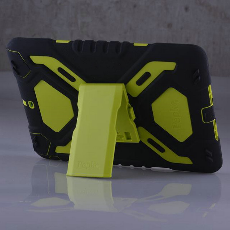 2016 3 profing Hybrid Armor heavy Tough Military Hard Rugged 9 7inch Silicone waterproof Armor case