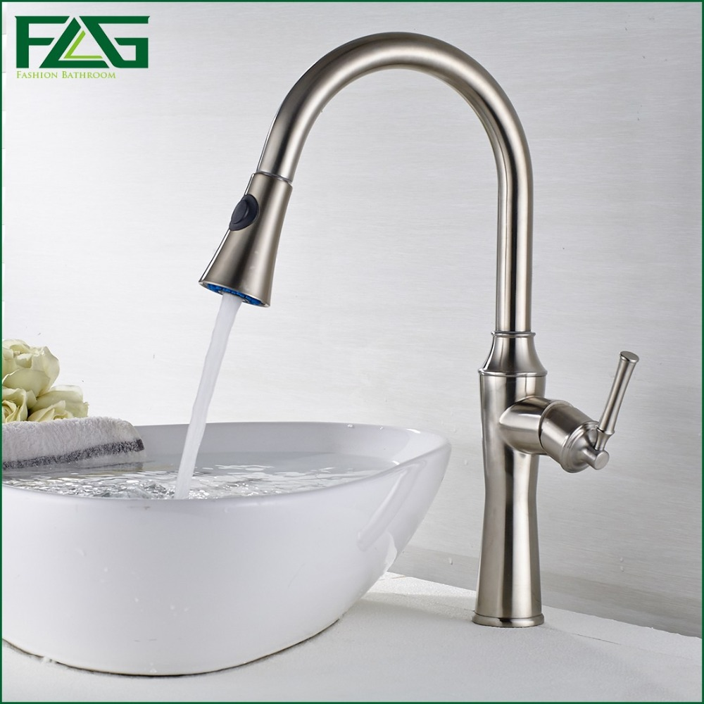 FLG Bath Mat 360 Swivel Spout Deck Mounted 304 Stainless Steel Basin Faucet Cold & Hot Basin Sink And Kitchen Faucet Mixer SS005(China (Mainland))