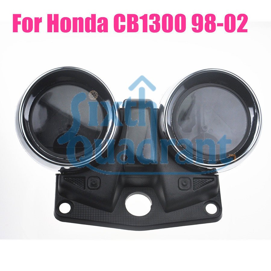 Free Shipping Motorcycle Replacement Gauges Cluster Speedometer Cover Instrument Case For Honda CB1300 98-02 Custom