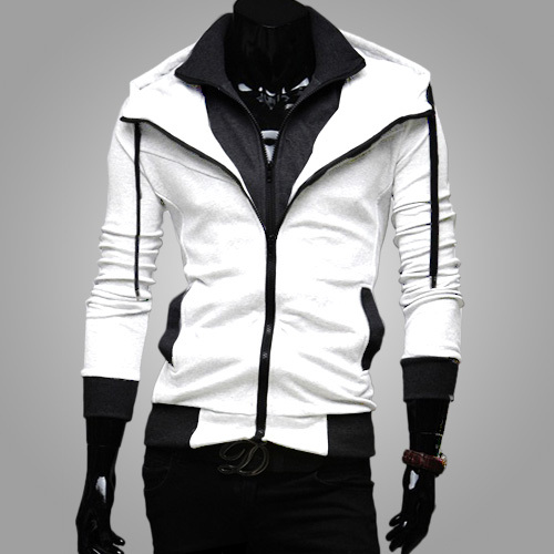 Freeshipping,2015 Fashion Brand Winter&Autumn Hoodies Jacket Male,Double Zipper Casual Sports Hoody Sweatshirt Men,Dropshipping - MISS PAOLA store
