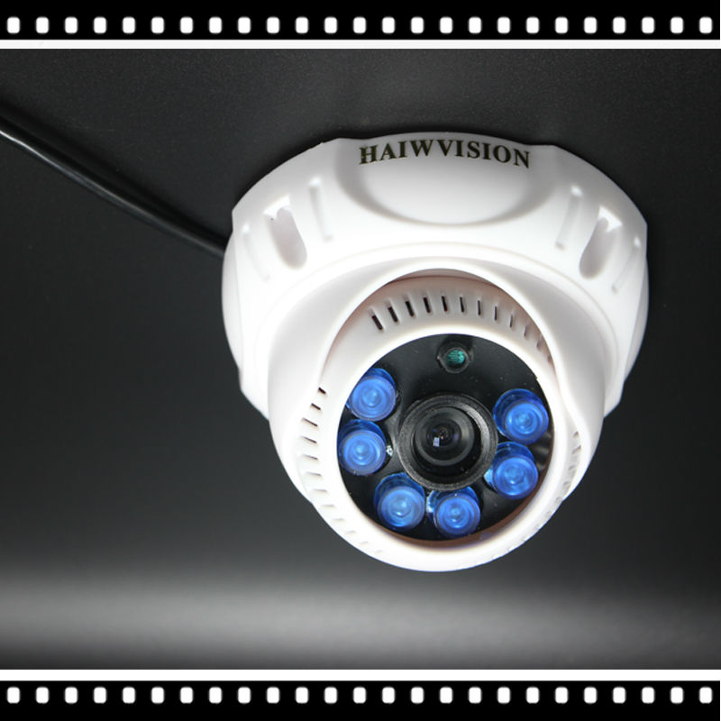 HD 1920*1080P 2.0MP ONVIF Indoor IR CUT Night Vision P2P Plug and Play Mini Dome IP Camera