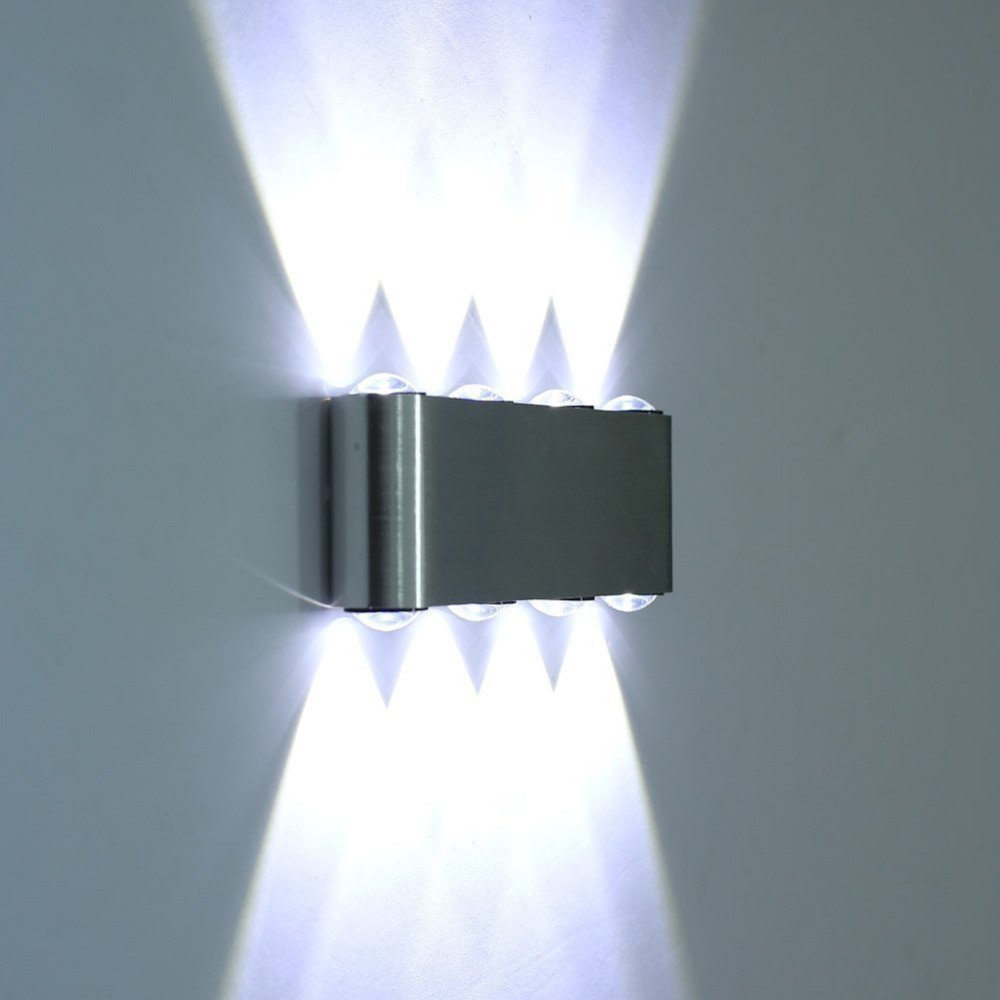 Wall Lights Lampshades : Aliexpress.com : Buy new! 8W Led Wall Sconce lamp Lights for hotel Aisle step Hall Bedside up ...