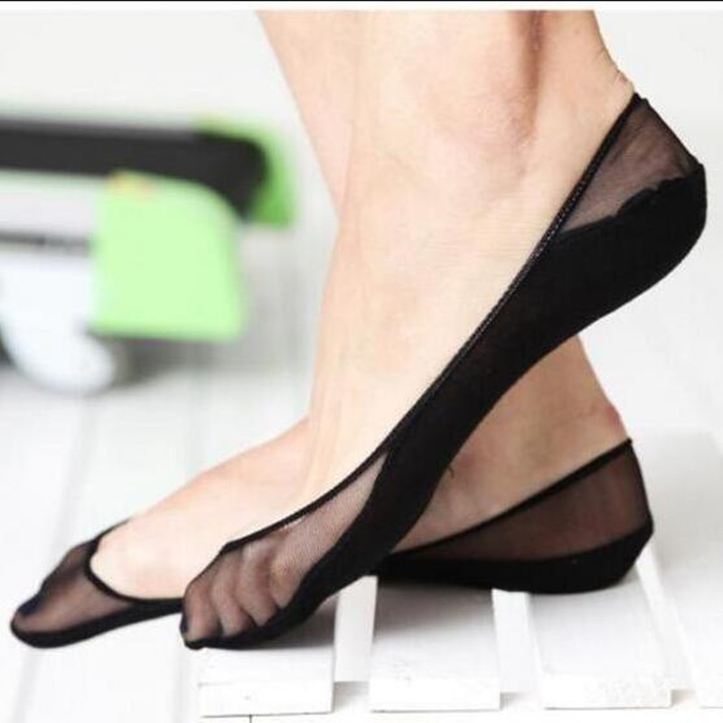 Fashion 1 Pair Women Cotton Lace Sock Antiskid Invisible Liner No Show Peds Girl Low Cut Socks Wholesale Cheaper