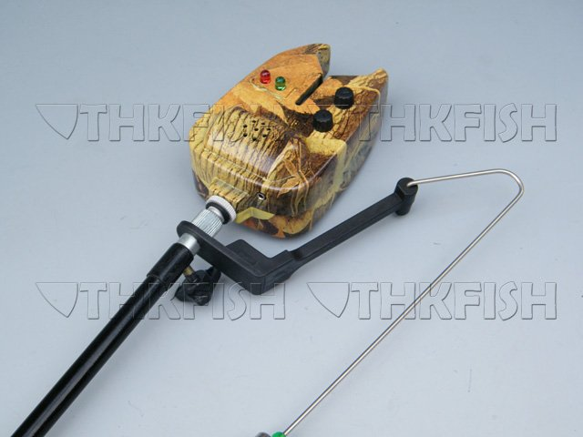 New! 1X LED Fishing Fish Bite Alarm Carp Coarse biteAlarm bITE ALARM Bait Alarm Fishing Tools(China (Mainland))