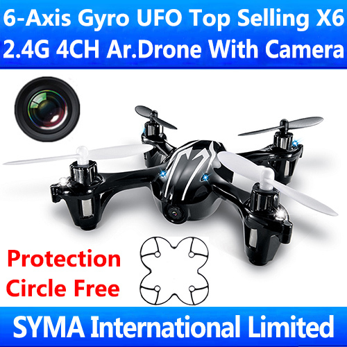 2.4Ghz 4CH 6-Axis GYRO Quadcopter Quadricopter with HD Camera CAM UFO Good As Hubsan X4 H107C Parrot AR.Drone 2.0 RC Helicopter(China (Mainland))
