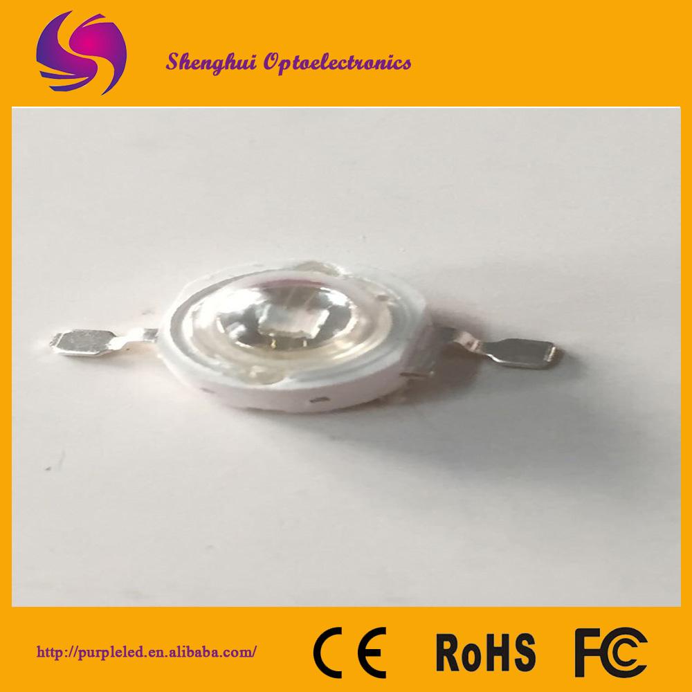 UV 1w high power light emitting diode(China (Mainland))