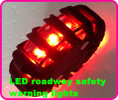 Rechargeable 16 LED roadway safety car warning light, traffic lights, car beacon,signal light install by magnetic, waterproof(China (Mainland))