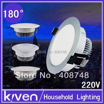 3W,5w,7w,9w,  LED Downlight  Aluminum+Exclusive Panel AC85--265V
