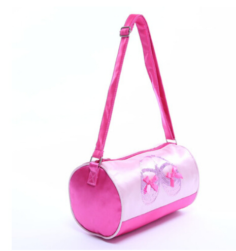 Fashion Pink Cute professional messenger Bag Child girl portable kid dance ballet bag children ballet Casual bag birthday gift(China (Mainland))