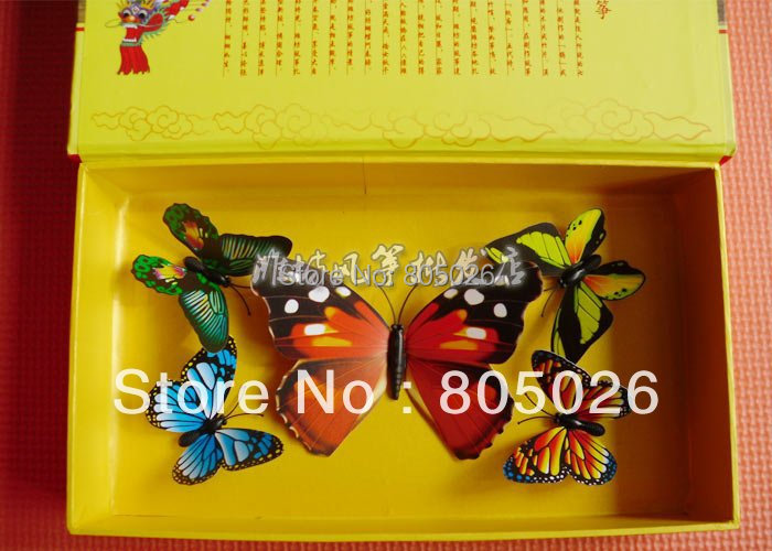 free shipping high quality mini Kite butterfly pocket kites chinese traditional crafts culture (can't fly) gifts diamond kite(China (Mainland))