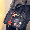 Platinum package printing fashion handbags 2016 new winter buckle embossed shoulder bag Mobile Messenger bag